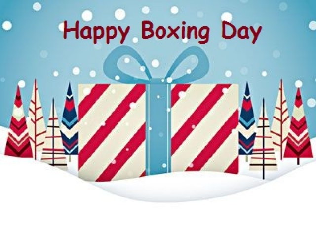 Boxing Day multiple choice questions and answers