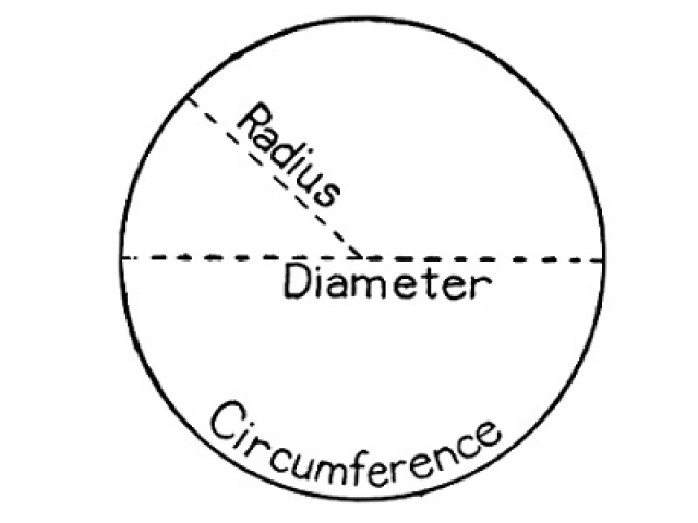 Circles multiple choice questions and answers