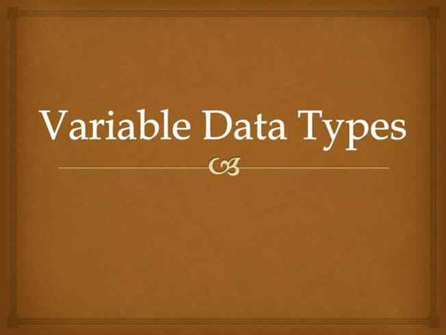 DataTypes multiple choice questions and answers