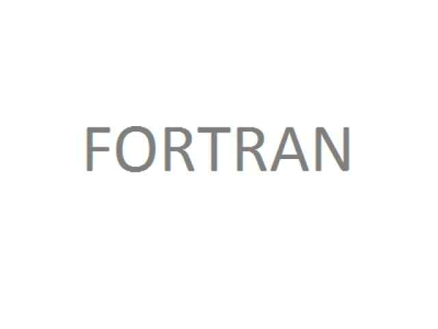 Fortran multiple choice questions and answers
