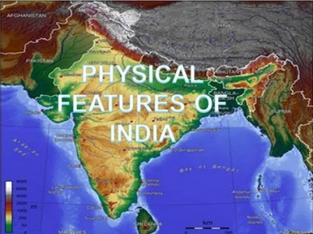 Physical Features of India multiple choice questions and answers