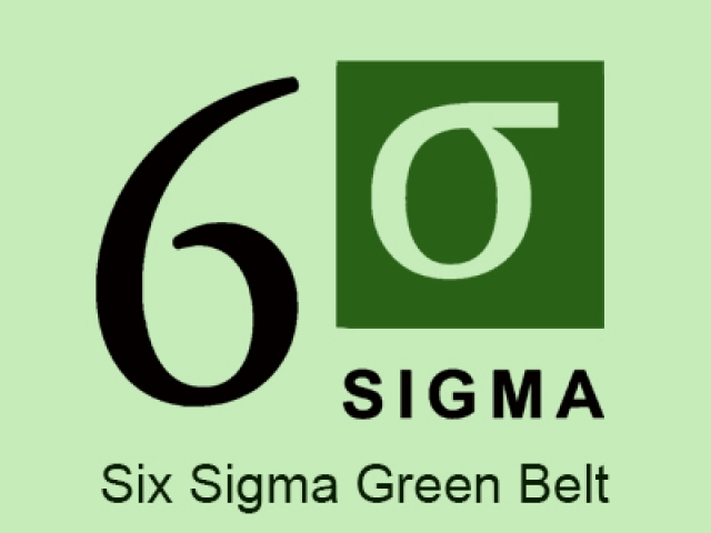 Six Sigma Green Belt multiple choice questions and answers